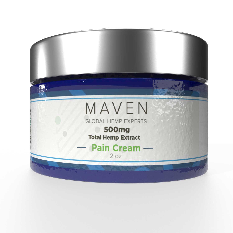 Peppermint Body Creams 500mg or 1000mg CBD | Maven, Global ...